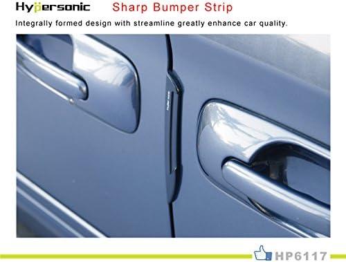 Hypersonic Auto Tür Bumper Displayschutzfolie Automotive Schwarz Side Guard Edge Streifen 2 Auto