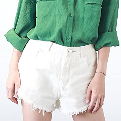 YYJZJW Lady Shorts Ms. Shorts Short Skirt Jeans Shorts Mujer ...