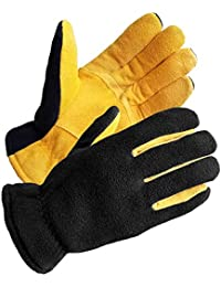SKYDEER Mens Winter Work Gloves - Premium Genuine...