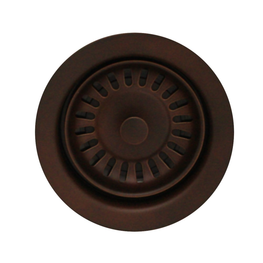 Whitehaus Collection Waste Disposer Trim For Deep Fireclay Sink Applications-Mahogany Bronze-WH202-MB by Whitehaus