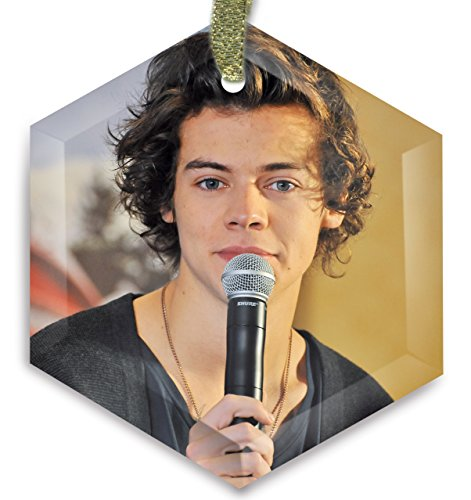 HA Homes One Direction 1D v1 Cyrstal Christmas Ornament