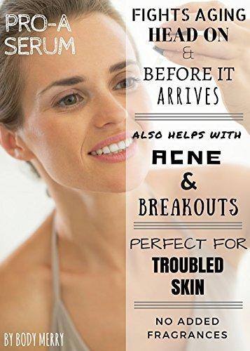 Pro-A-Serum-Anti-Aging-Anti-Wrinkle-Face-Serum-w-Retinol-Serum-to-Minimize-Lines-Spots-Enhanced-w-Best-Natural-Hyaluronic-Acid-Green-Tea-Vitamin-E-Jojoba-Oil-for-Day-or-Night-Use