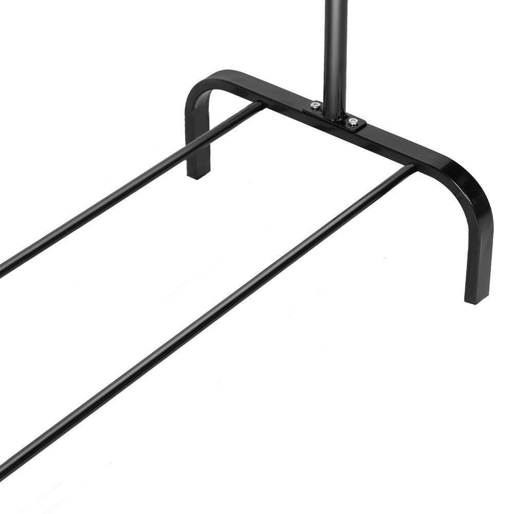 T-LoVendo TLV-PB1 Perchero burro-Negro 152 x 105 x 46 cm