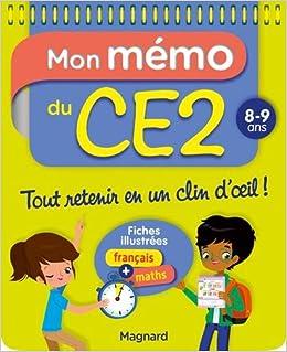 Mon mémo du CE2 : 8-9 ans: Amazon.es: Morgane Céard: Libros en idiomas extranjeros