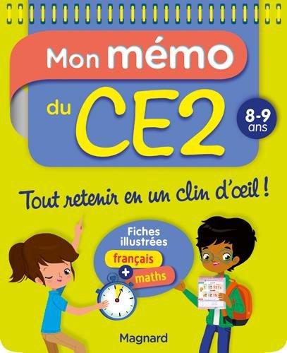 Amazon Fr Mon Memo Du Ce2 8 9 Ans Morgane Céard Livres
