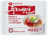 NongShim Doong Ji Cold Noodles, Chili Sauce, 5.71-Ounce Bags (Pack of 20)