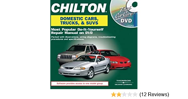Chilton total car care domestic vehicles dvd chilton total car care chilton total car care domestic vehicles dvd chilton total car care series cds chilton 9781418032029 amazon books solutioingenieria Images