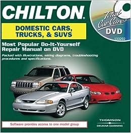 Chilton total car care domestic vehicles amazon chilton libros solutioingenieria Images
