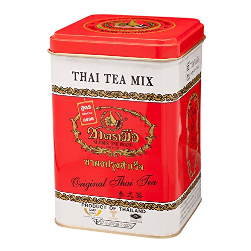 Number One, Thai Tea Mix, Original Thai Tea, net weight 200 g (Pack of 1 can) / Beststore by KK