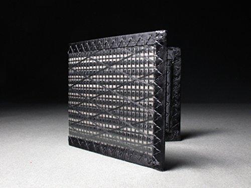 Carbon ID Carbon Fiber Fiber Wallet Bifold RFID Black Blocking Megafold RHBwBqd