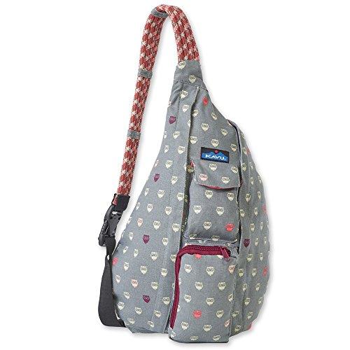 KAVU Women's Rope Bag Backpack, Owls, One Size