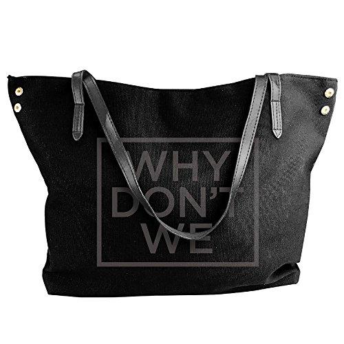 Jetson Ideas Costume (Why Don't We Women Canvas Stripe Handbag Cross Body Shoulder Bags Tote Satchel Messenger)