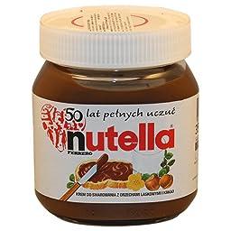 Nutella Chocolate Hazelnut Spread IMPORTED 350g Glass