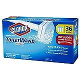 Clorox ToiletWand, 36 Disinfecting Refills + 1 ToiletWand Handle (pack of 2)