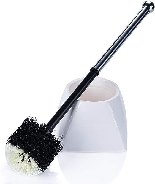 TreeLen Toilet Brush and Holder,Toilet Bowl Cleaning Brush Set for Bathroom