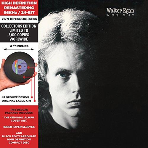 Walter Egan - Not Shy - Cardboard Sleeve - High-Definition Cd Deluxe Vinyl Replica - Zortam Music