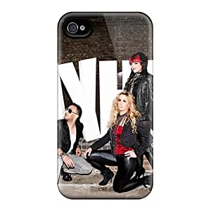 RitaSokul Iphone 4/4s Scratch Protection Phone Cases Provide Private Custom Attractive Mayhem Band Image [Izn1906yWbr]
