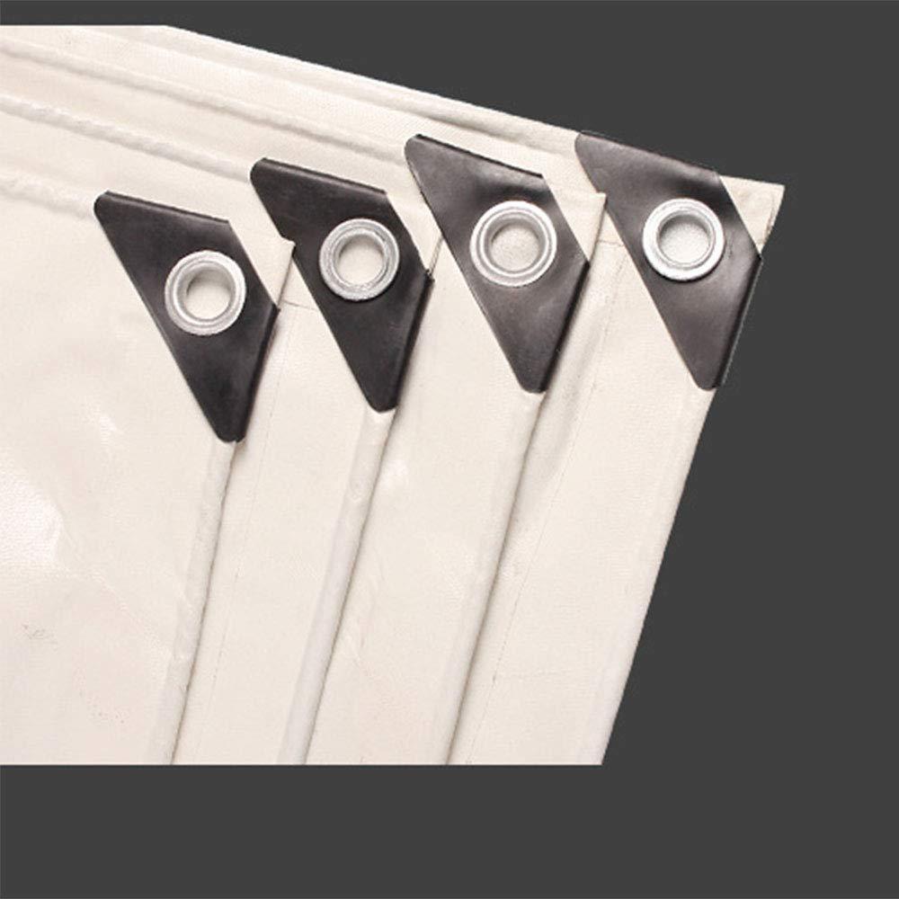 Plane Persenning Persenning Persenning Verdicken Sie weißes 550g   m² regendichter Stoff-Wasserdichter Sunscreen Dreirad-LKW 5d1bb0