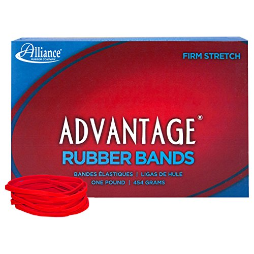 Alliance Rubber 96325 Advantage Rubber Bands Size #32, 1 lb Box Contains Approx. 700 Bands (3