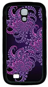 Galaxy S4 Case, Personalized Protective Soft Rubber TPU Black Edge Abstract Case Cover for Samsung Galaxy S4 I9500
