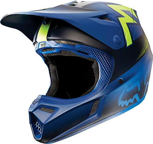 Fox Racing Franchise Men's V3 Motocross Motorcycle Helmet - Blue / X-Large