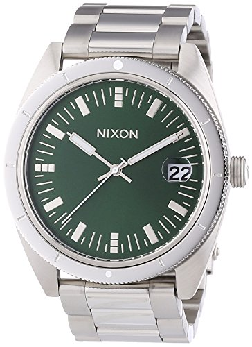 Nixon-A359-1696-Mens-The-Rover-SS-II-Green-Sunray-Watch