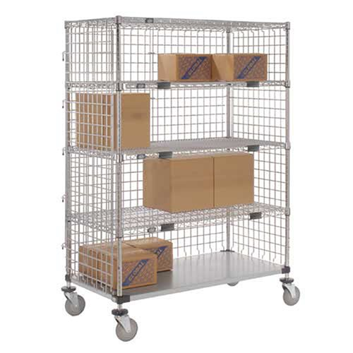 Enclosed Wire Exchange Truck 4 Wire 1 Galvanized 800 Lb Cap, 48