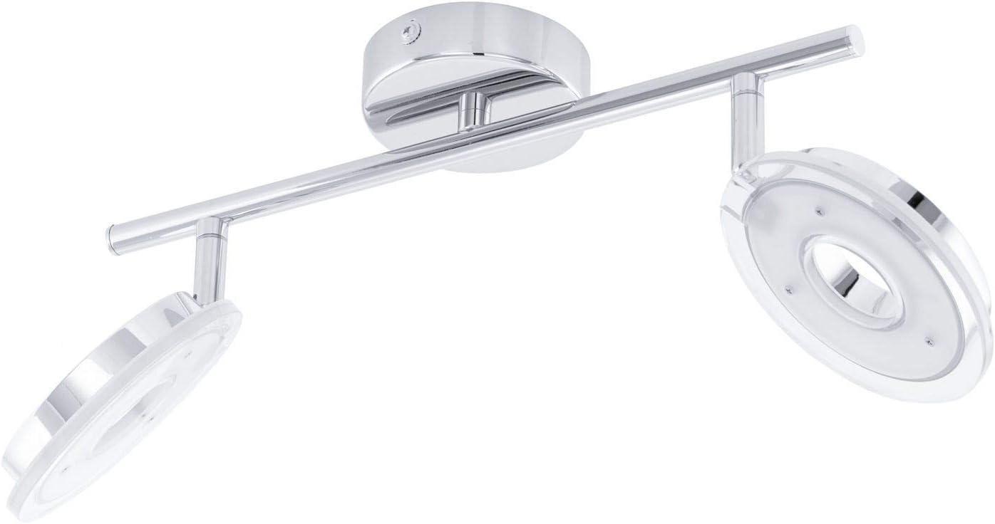 Dornes LED Deckenlampe 4er Spot 1600lm schwenkbar chrom Deckenlampe