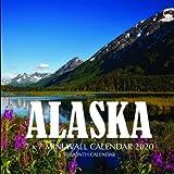 Alaska 7 x 7 Mini Wall Calendar 2020: 16 Month Calendar