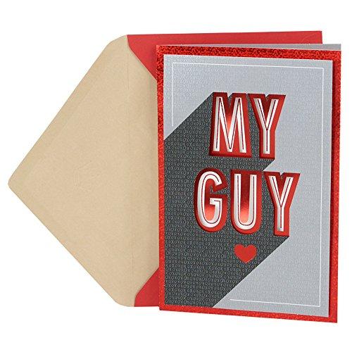 Hallmark Valentine's Day Greeting Card for Husband (My Guy)