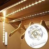 Amagle LED Dual Mode Motion Night Light, Flexible LED Strip with Motion Sensor Closet Light for Bedroom Cabinet