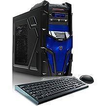 CybertronPC Shockwave X6-9600 Blue Gaming Desktop -AMD FX-6300, 16GB DDR3, NVIDIA GTX960, Microsoft Windows 10