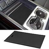 ROCCS Secret Compartment Cover Center Console Organizer Tray for 2014-2019 GMC Sierra 1500 2500HD 3500HD Denali Chevy Silverado Hidden Accessories