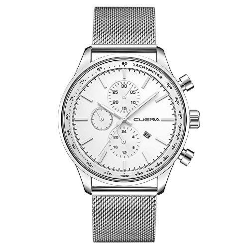 BeautyVan Mens Watches Fashion Minimalist Casual Quartz Analog Watch Designer Luxury Business Classic Dress Wrist Watch (G)