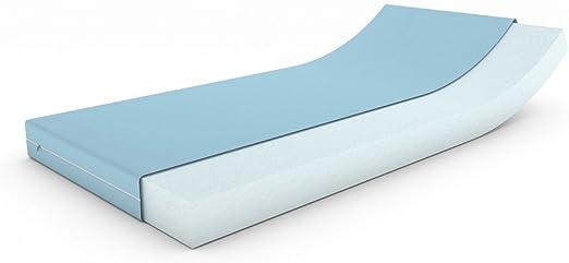 Comfort Rollmatratze Medisleep Bezug Milano 200 x 210 x 10cm Härtegrad 3