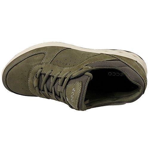 ECCO Wayfly, Zapatillas de Deporte para Exterior para Hombre Verde (Tarmac/tarmac)