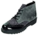 Dorndorf/Remonte Womens L.Lace-up Boots Black/Grey/Gris Size 39.0 EU