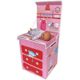 Fun2Give Pop-It-Up Baby Change Table with Doll Storage Playhouse