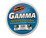 Gamma Fluorocarbon Leader Material, 80# Test Line, Clear, 27 yds #FC280-10