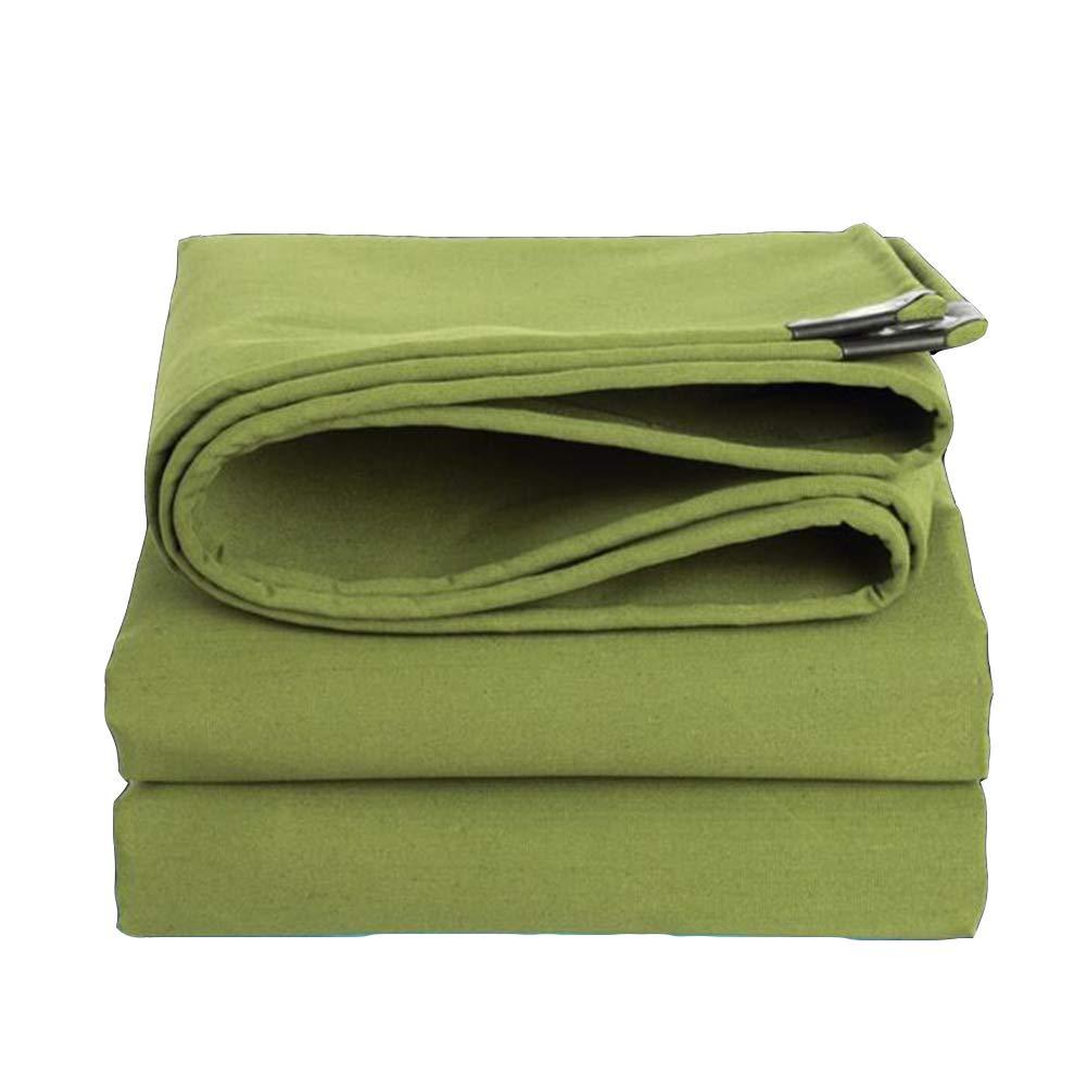 buona qualità Dall telone Telone Protezione Solare Panno di Pioggia Resistente Resistente Resistente all'Usura Impermeabile Tela (colore   verde, Dimensioni   4×5m)  vendita calda