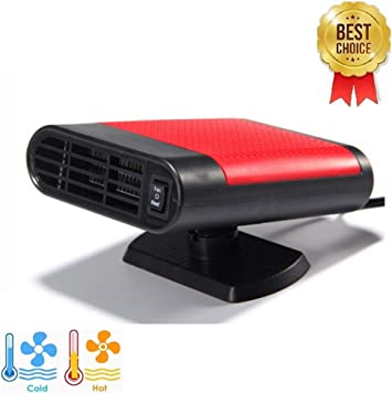 Black 2 in 1 Portable Fast Heating Car Heater with Heating /& Cooling Function Defroster Defogger 12V 150W Demister Vehicle Heater Fan for Windshield SONYANG Upgrade Car Heater Fan