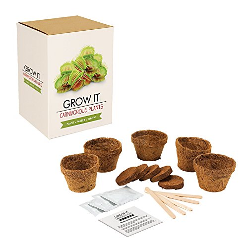 Venus Fly Trap Carnivorous Plants Grow It Kit by GIR