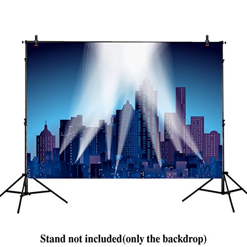 Allenjoy 7x5ft photography backdrops superhero super city ni