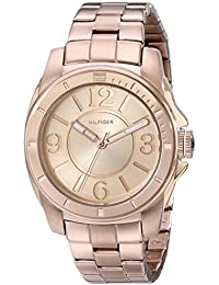 Womens 1781141 Sport Rose Gold Plated Stainless Steel Bracelet Watch