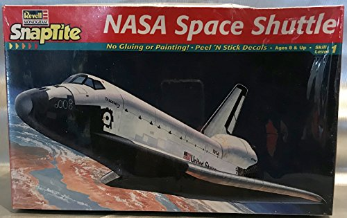Nasa Space Shuttle Model Kit Snaptite 1:200 Scale