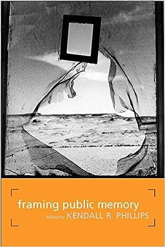 Amazon.com: Framing Public Memory (Albma Rhetoric Cult & Soc Crit ...