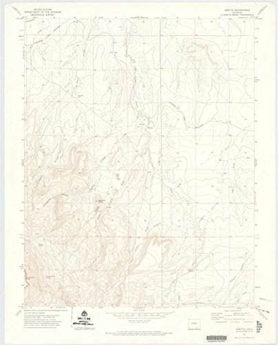 - Colorado Maps | 1971 Abeyta, CO USGS Historical Topographic Map | Cartography Wall Art | 24in x 30in