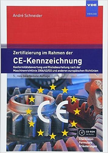 Zertifizierung im Rahmen der CE-Kennzeichnung: 9783800744732: Amazon ...