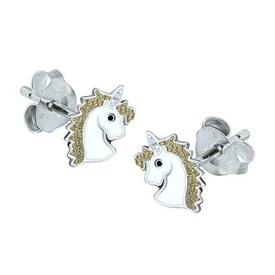 Sterling Silver Gift Katy Craig Unicorn Earrings