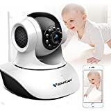 VSTARCAM C35S 1080P HD Indoor Wireless WIFI IP Camera Night Vision Two-way Voice Network CCTV P2P Multi-stream Baby Monitor Mobile Phone Remote Monitoring (Maximum support 128G TF Card)